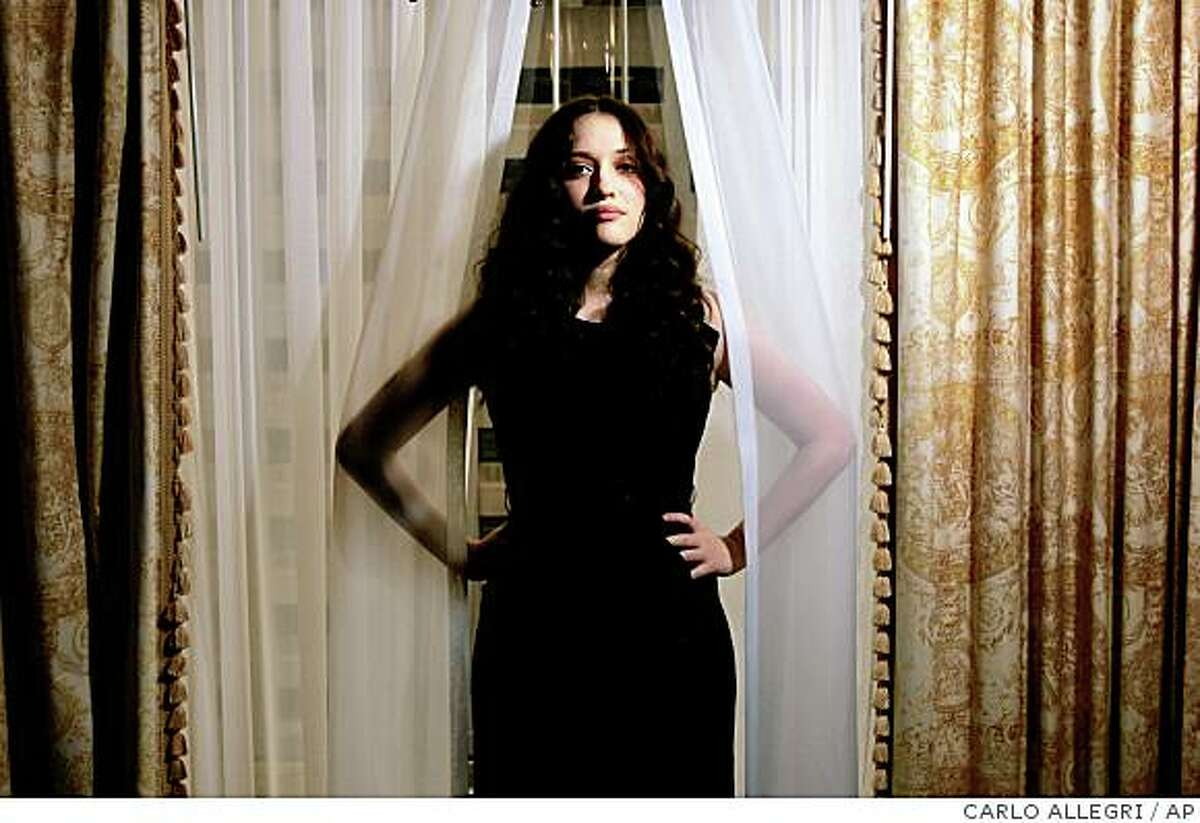 Actress Kat Dennings poses for a portrait while promoting her movie