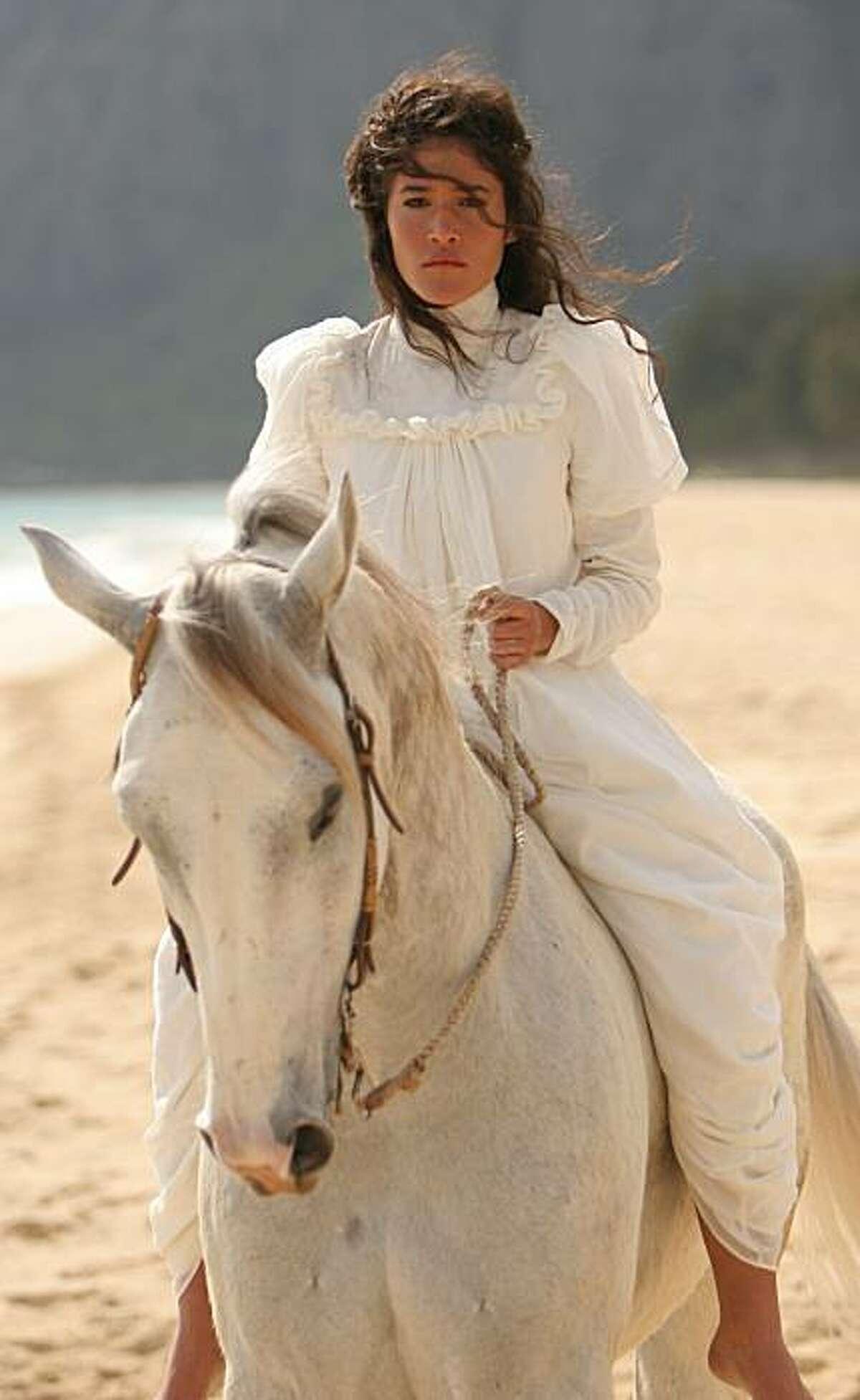 Q'orianka Kilcher as Princess Kaiulani in PRINCESS KAIULANI, directed by Marc Forby