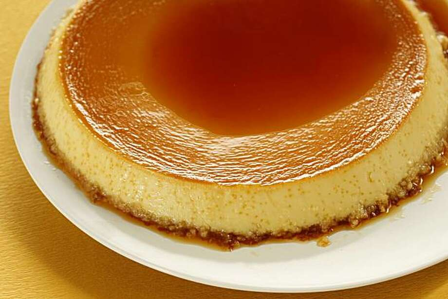 Almond Vanilla Bean Flan, in San Francisco, Calif., on October 16, 2008. Food styled by Cindy Lee. Photo: Craig Lee, The Chronicle