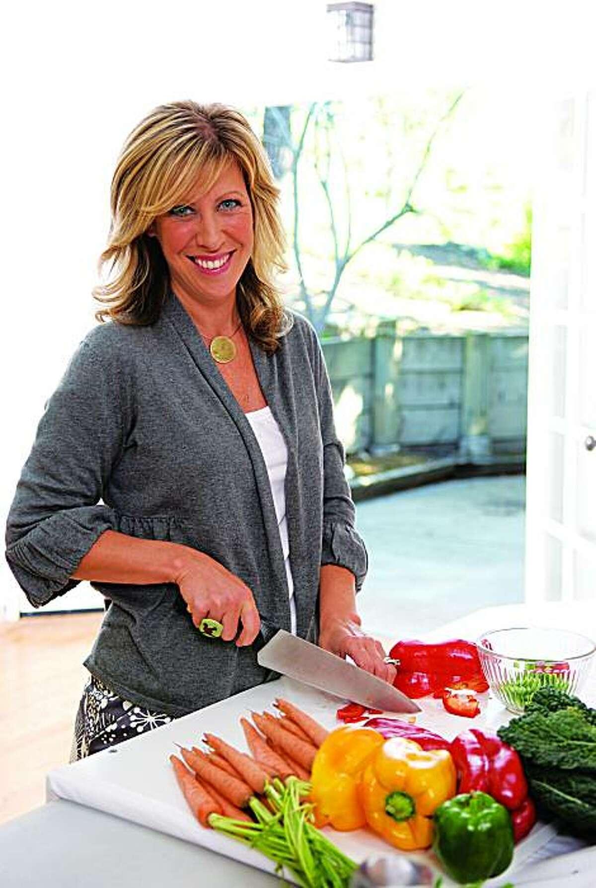Vegan cookbook author, activist, and public speaker, Colleen Patrick-Goudreau.