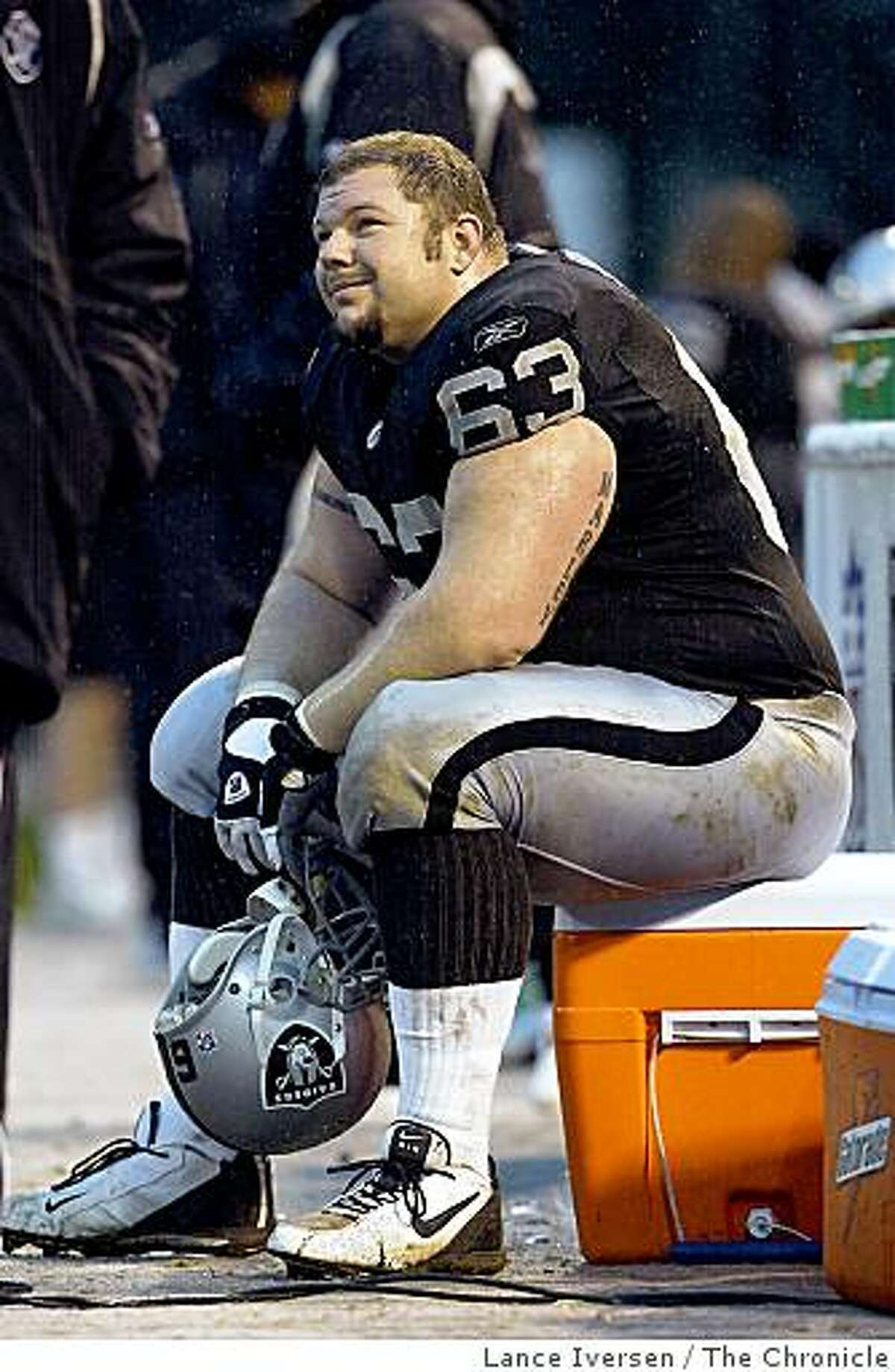 Here are the athletes and officials who were caught up in the BALCO scandal -- a case that raised awareness on performance-enhancing substances and sports: Oakland Raiders center Barret Robbins.