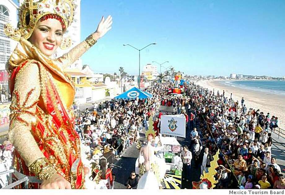 Mazatlan, Mexico, celebrates the world's third-largest Carnaval (after Rio de Janeiro and New Orleans' Mardi Gras Photo: Mexico Tourism Board