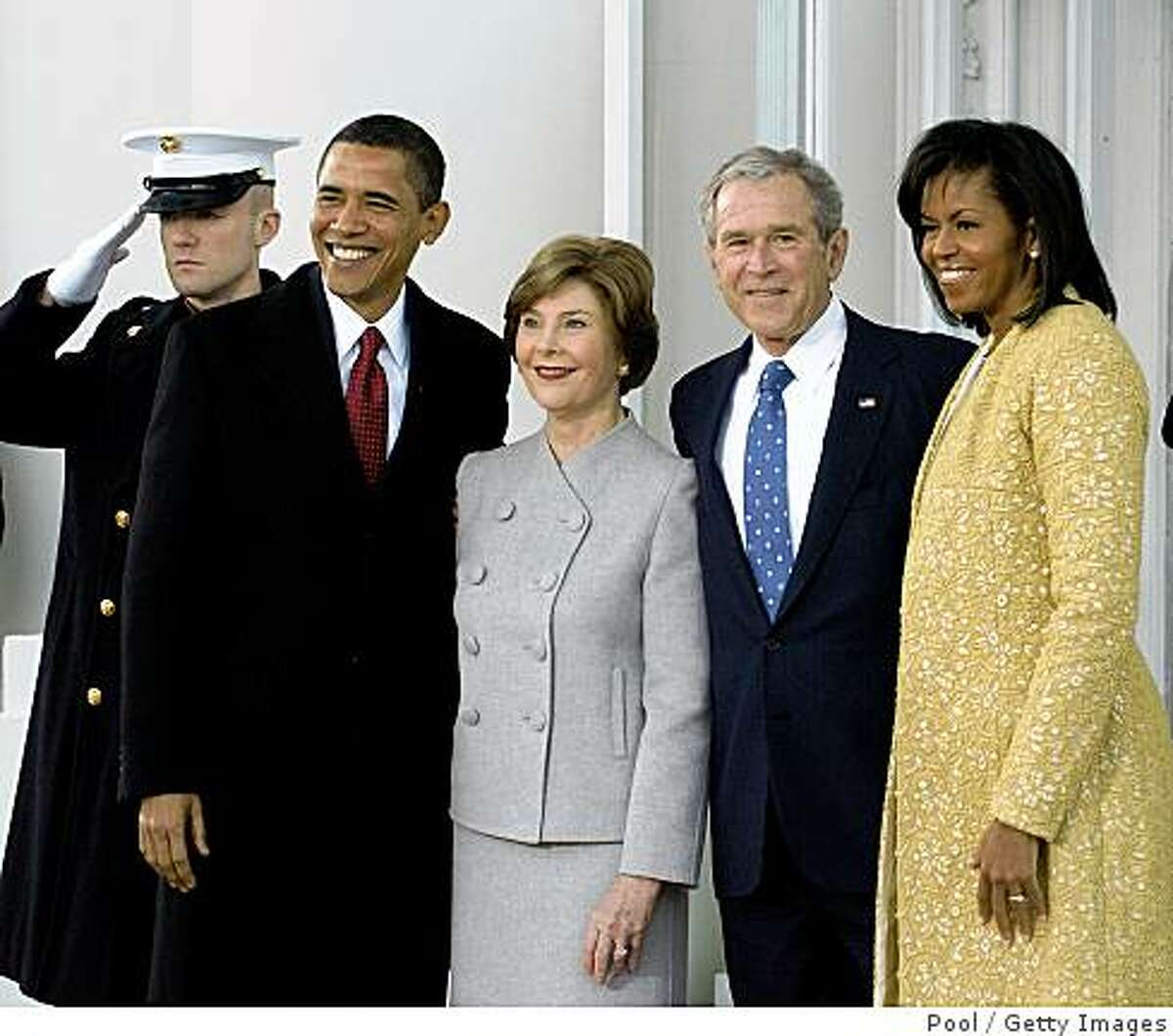After the 2008 election, the Bush family invited the Obamas to the White House. Barack's favorite part of the tour was the gym, something he shared with President Bush. Michelle liked best her future dressing room.
