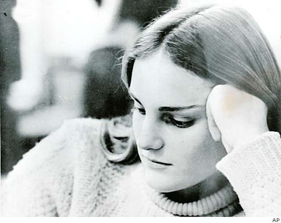 patty hearst_10.jpgMay 22, 1974 - Studious Patty. This is a picture of newspaper heiress Patricia Hearst, taken by another student, when Patty was studying in the Bowman Library on the campus of Menlo School and College, where she spent her freshman year of college in 1971 and 1972. The picture was made available today./AP Photo: AP