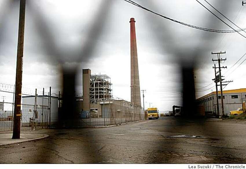 The Potrero power plant photographed on Monday, November 3, 2008 in San Francisco, Calif.