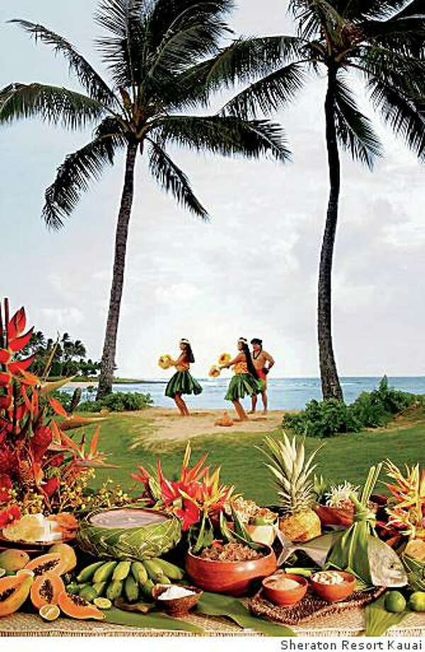 TRAVEL POIPU -- Luau at the Sheraton Kauai Resort in Poipu, Kauai. Photo: Sheraton Resort Kauai