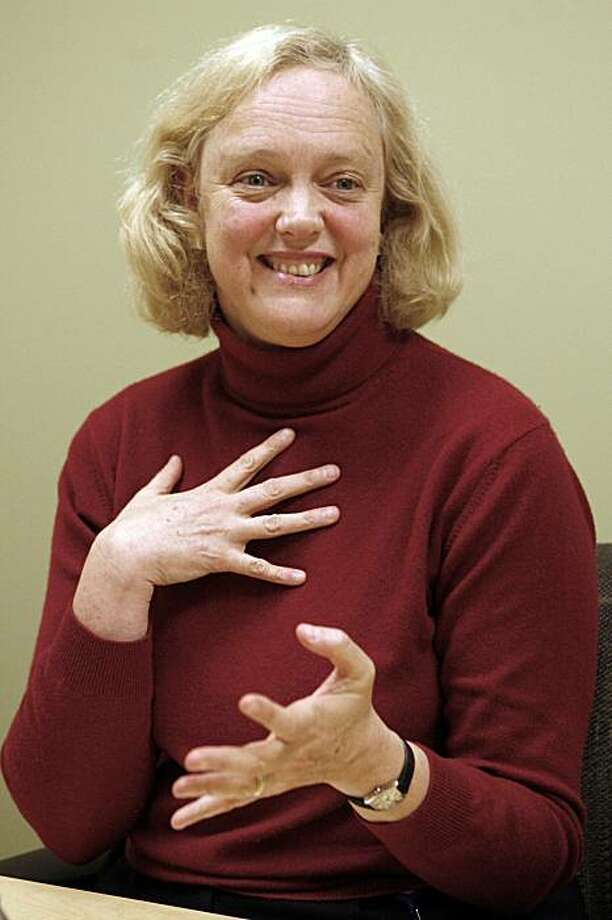 Interview with eBay CEO Meg Whitman at eBay's San Jose headquarters in 2006. Photo: Kim Komenich, SFC