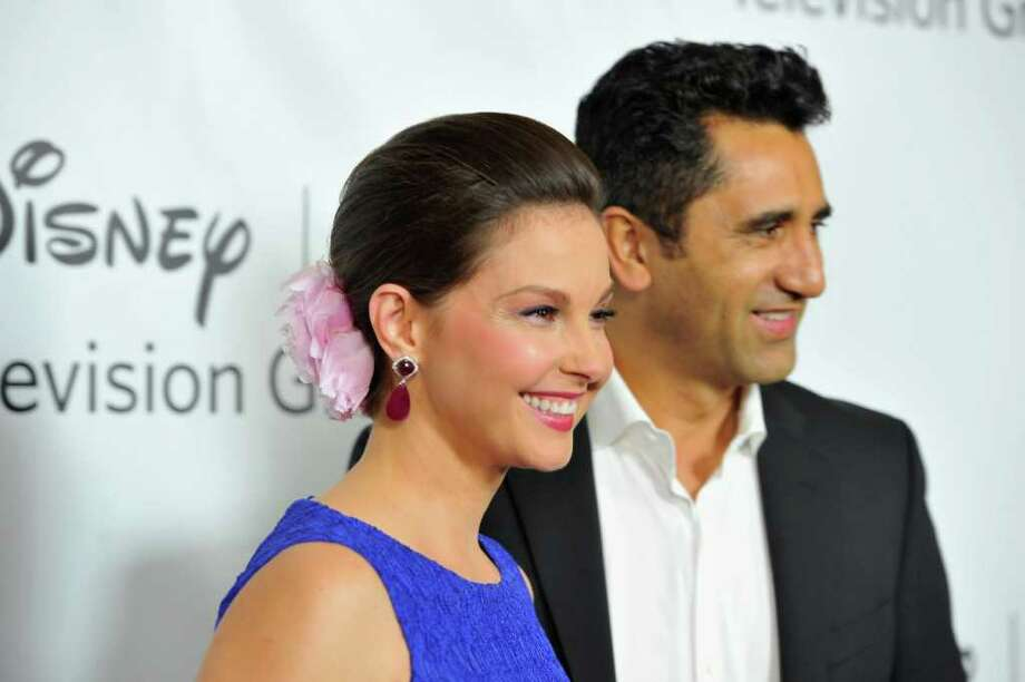 """PASADENA, CA - JANUARY 10:  Actors Ashley Judd and Cliff Curtis arrive to the Disney ABC Television Group's """"TCA Winter Press Tour"""" on January 10, 2012 in Pasadena, California. Photo: Alberto E. Rodriguez, Getty Images / 2012 Getty Images"""