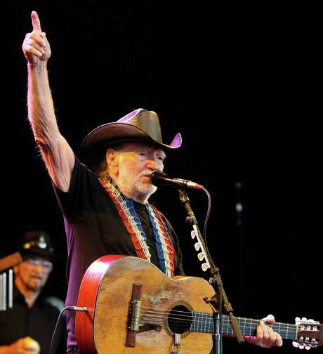 The legendary Willie Nelson performs Sunday at the Majestic Theatre. Photo: FILE PHOTO / Houston Chronicle