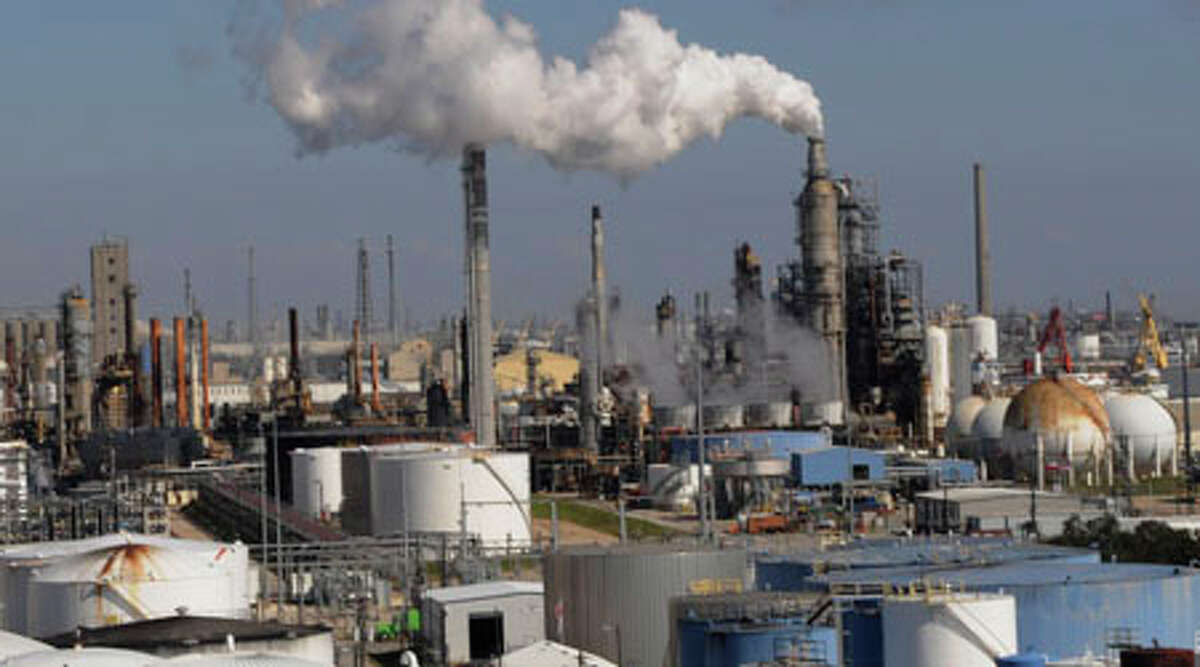 It's not just refineries along the Houston Ship Channel that has Texas ranking No. 1 in the EPA's list of greenhouse states. (AP Photo/File/Pat Sullivan)