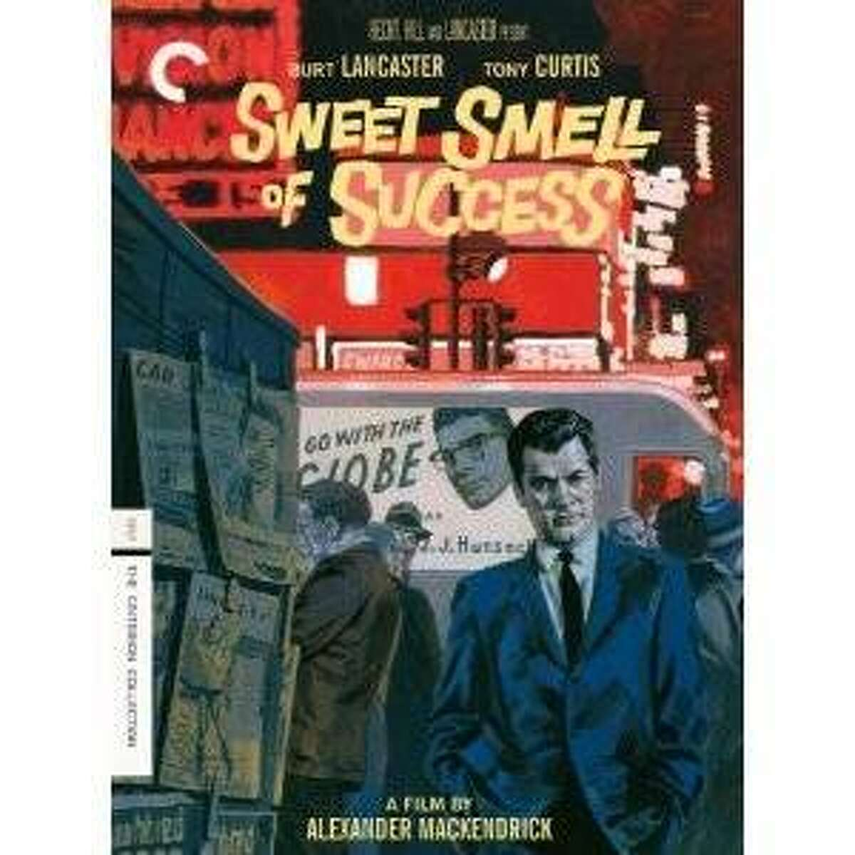 dvd cover SWEET SMELL OF SUCCESS
