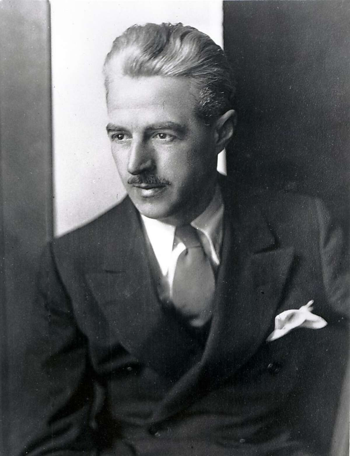FILE - This is an undated file photograph of American author Dashiell Hammett. Hammett. An unpublished Dashiell Hammett story is coming out decades after his death.