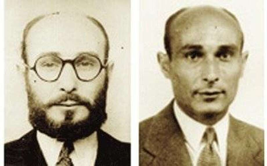 "Two faces of World War II double agent Juan Pujol Garcia, as seen in the documentary ""Garbo the Spy."" Photo: Smith Rafael Film Center"