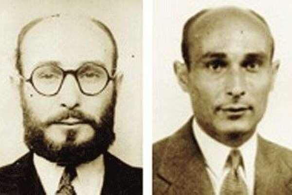 "Two faces of World War II double agent Juan Pujol Garcia, as seen in the documentary ""Garbo the Spy."""