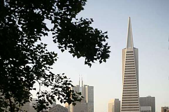 The Transamerica Pyramid building, above, and Sutro Tower, below, in San Francisco are guilty pleasures for architectural geeks.