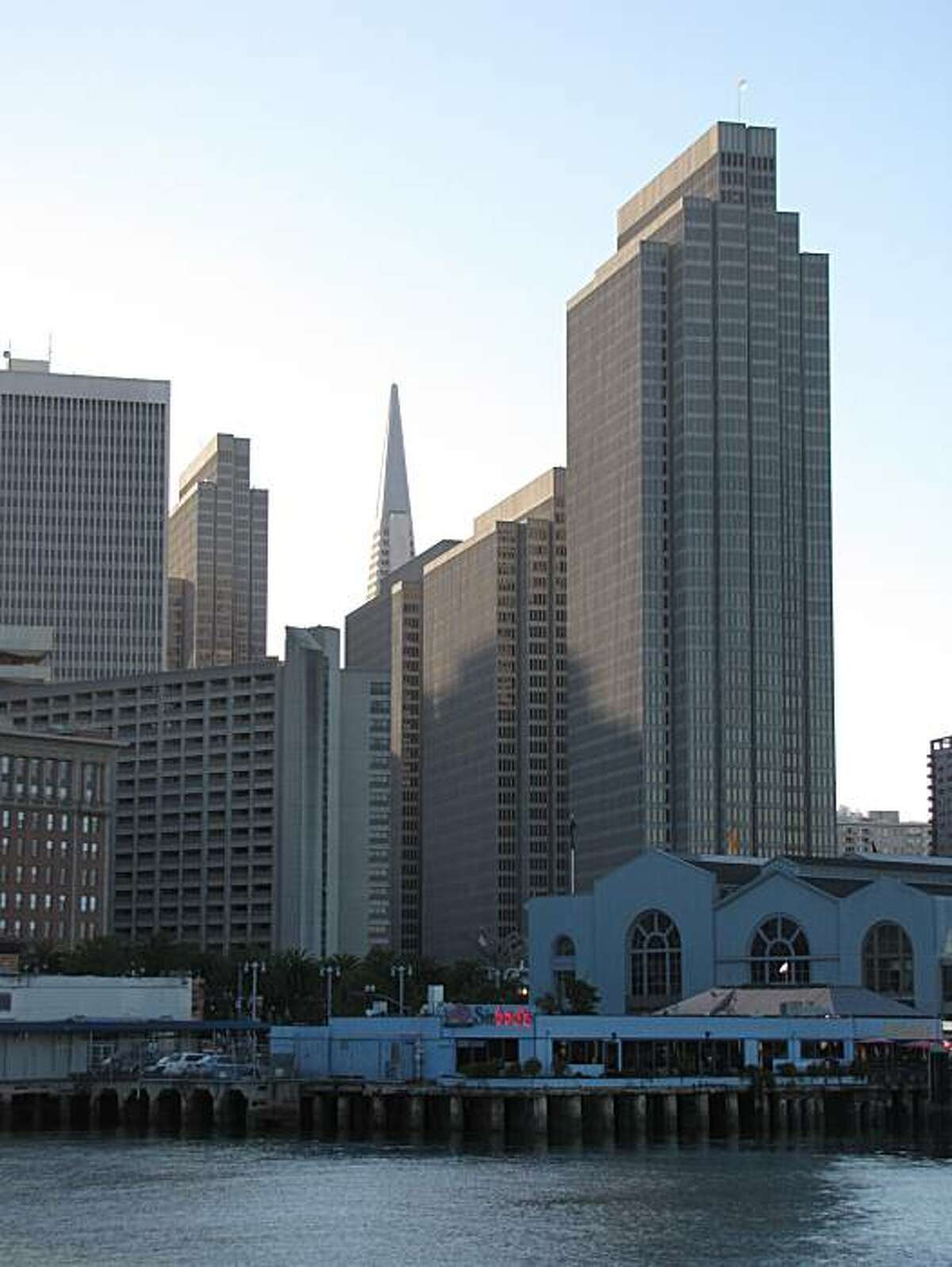 The Embarcadero Center may not be a graceful fit for San Francisco, but at least one highly regarded local architect considers it to be a guilty pleasure.