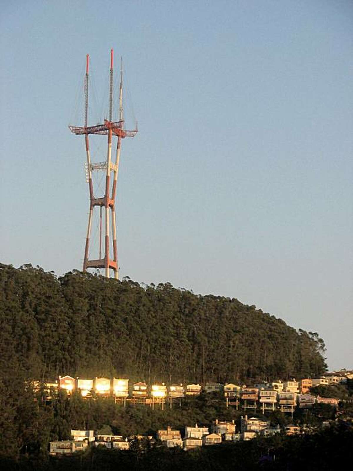Sutro Tower, love it or hate it, it's here to stay.