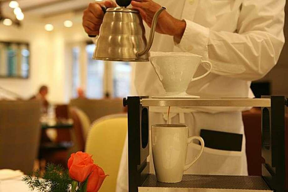 Coffee steward service Photo: Sarah Adler