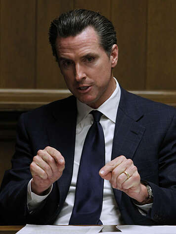Mayor Gavin Newsom meets with the Chronicle Editorial Board in San Francisco, Calif., on Wednesday, Dec. 22, 2010. Newsom will step down as mayor in January when he begins a new chapter in his political career as California's Lieutenant Governor. Photo: Paul Chinn, The Chronicle