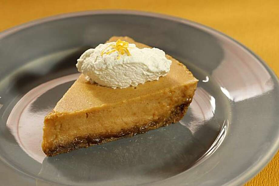 Silky Sweet Potato Chiffon Cream Pie in San Francisco, Calif., on November 6, 2008. Food styled by Caitlin Olmstead. Photo: Craig Lee, The Chronicle