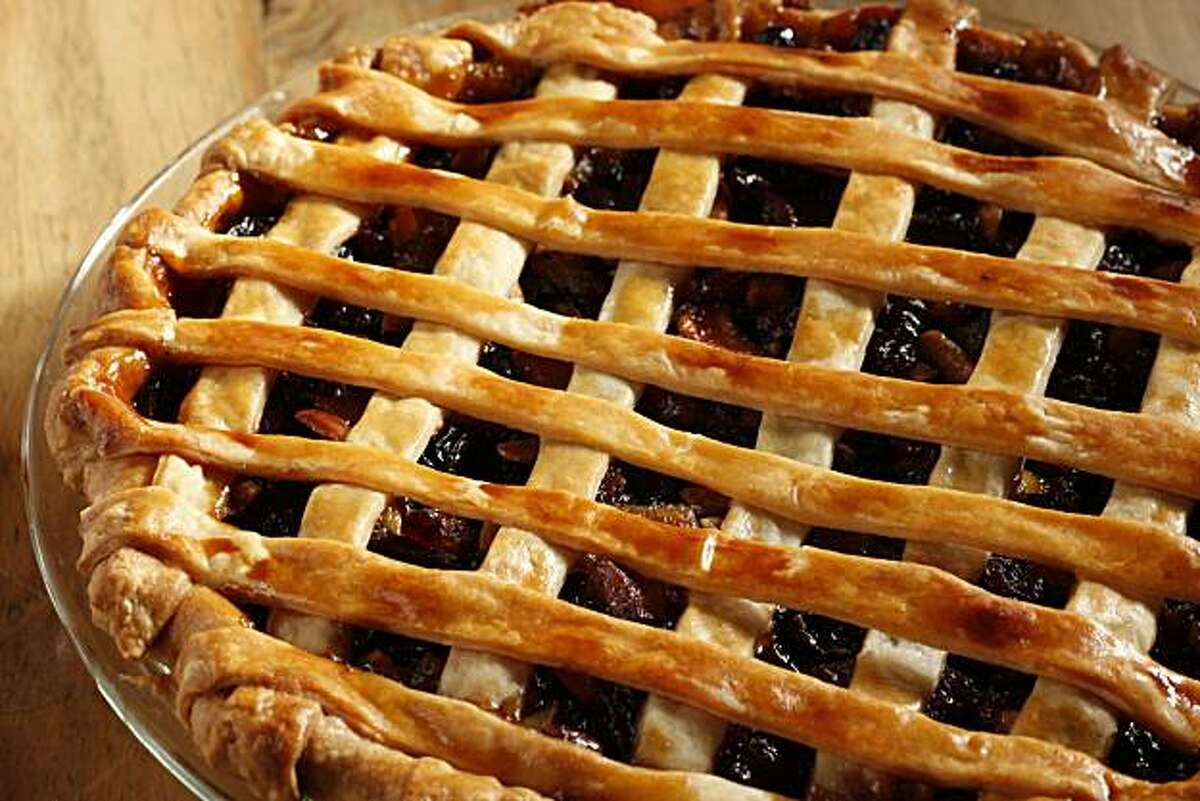 Mincemeat pie in San Francisco, Calif., on October 28, 2009. Food styled by Sarah Fritsche.