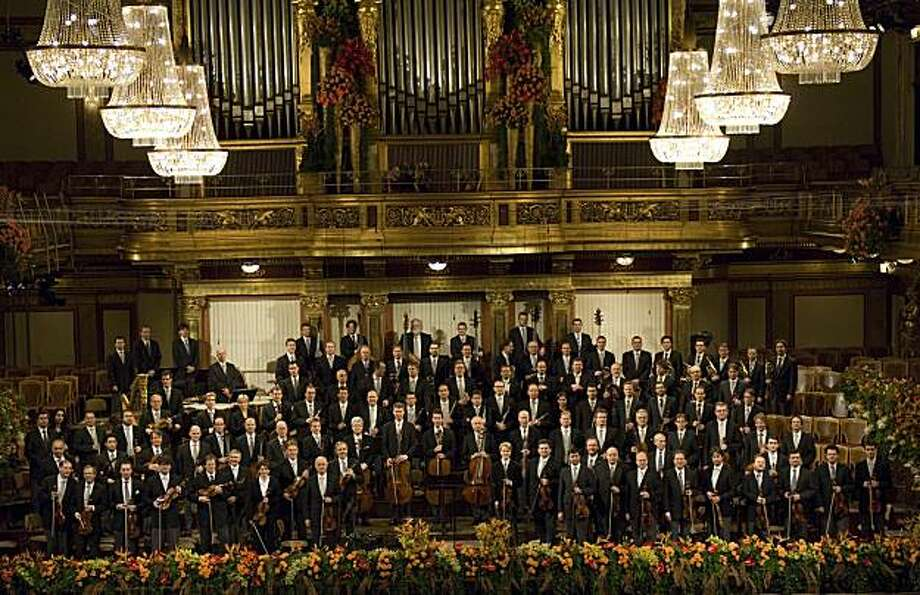The Vienna Philharmonic Orchestra Photo: Terry Linke