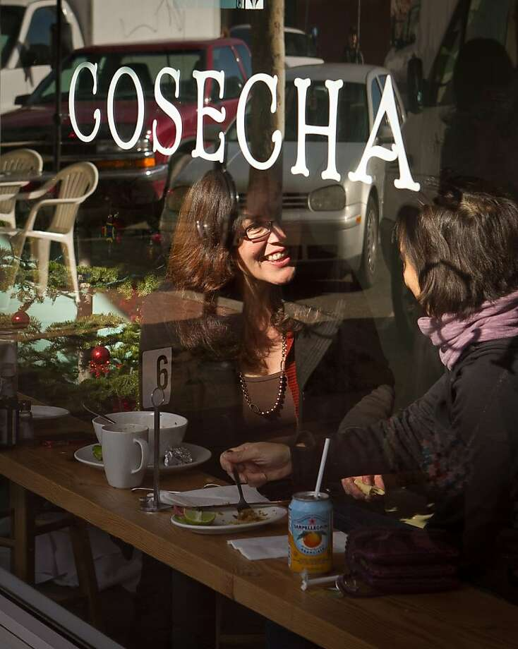 Diners enjoy lunch at Cosecha Restaurant in Oakland, Calif., on Friday, January 6th,  2012. Photo: John Storey, Special To The Chronicle