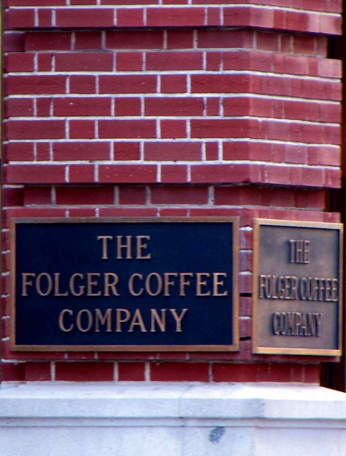 The Folger Coffee Company building was purchased by J.A. Folger in 1872.