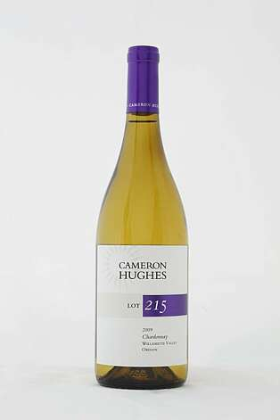 2009 Cameron Hughes Lot 215 Willamette Valley Chardonnay ($11) as seen in San Francisco, Calif., on February 16, 2011. Photo: Craig Lee, Special To The Chronicle