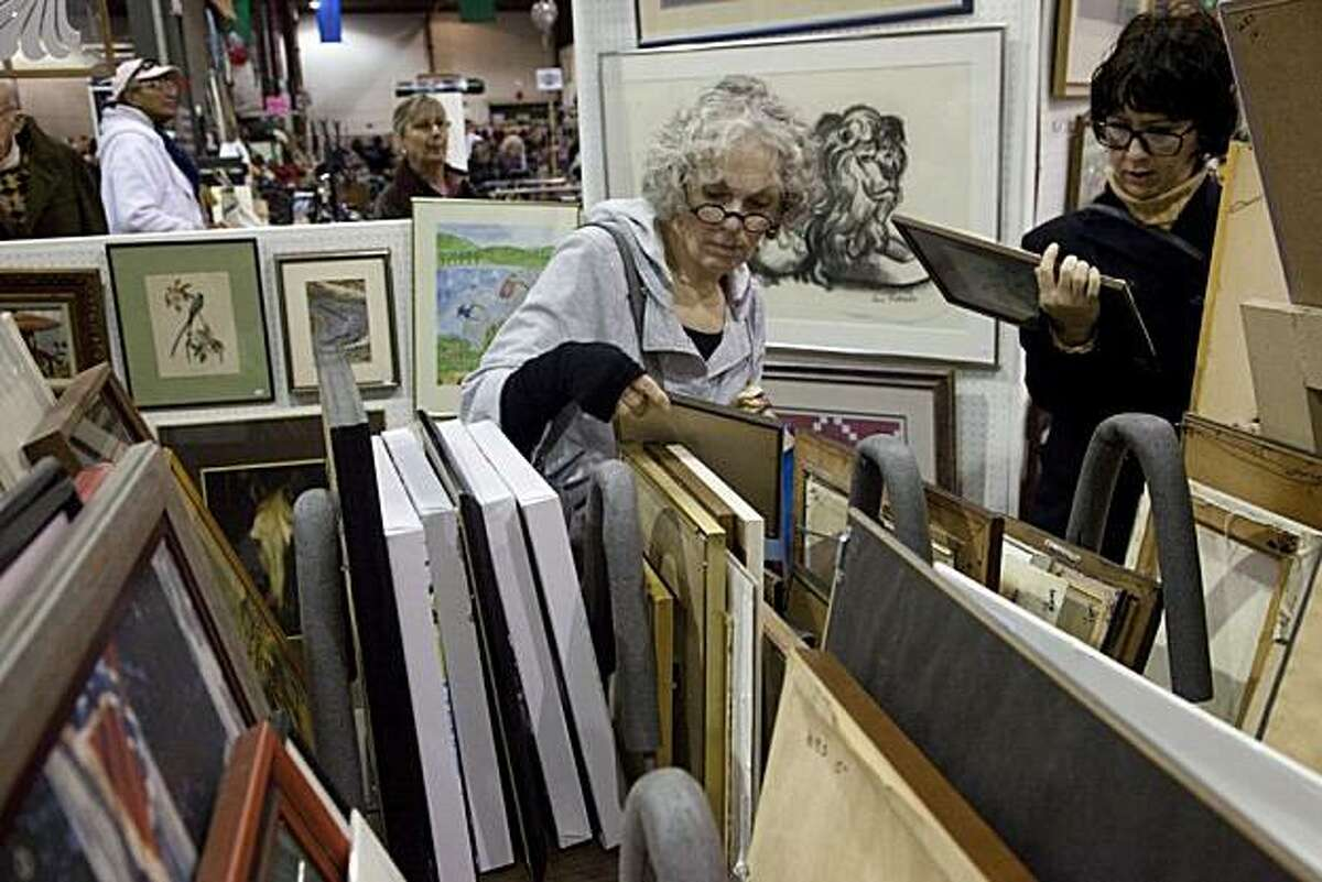 Oakland Museum of California's White Elephant Sale takes place March 5 and 6.