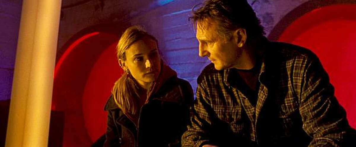 DIANE KRUGER as Gina and LIAM NEESON as Dr. Martin Harris in Dark Castle Entertainment's thriller