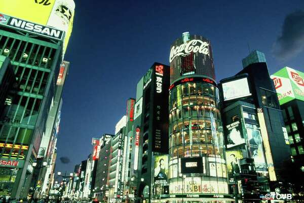 The Ginza district in Tokyo offers some of the best shopping in the world.