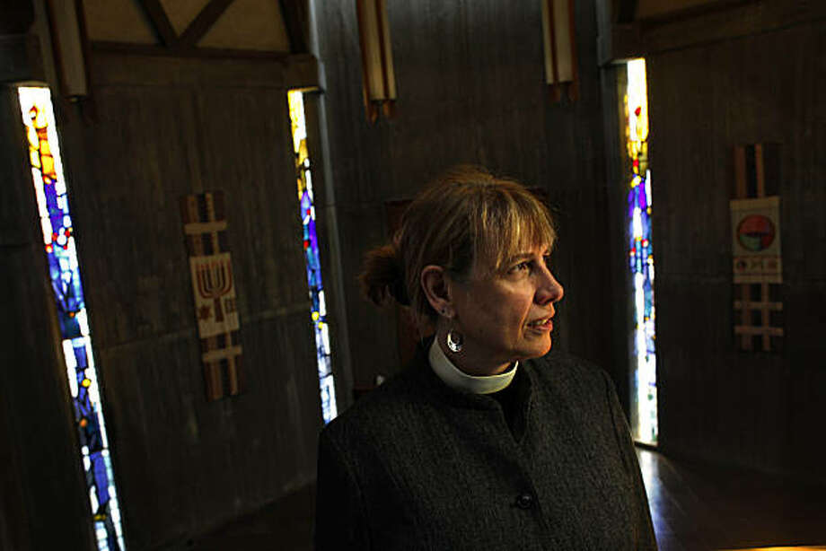 First United Lutheran Church of San Francisco pastor Rev. Susan Strouse is seen in the sanctuary of the First Unitarian Church, where her congregation gathers for their Sunday services, on Friday, February 12, 2011 in San Francisco, Calif. Photo: Lea Suzuki, The Chronicle