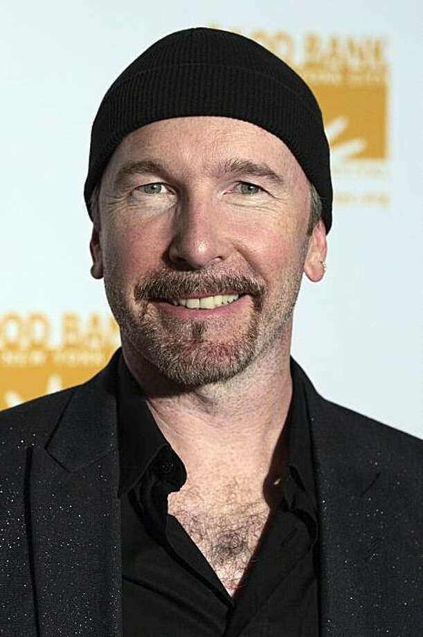 FILE - In this April 23, 2007 file photo, U2 guitarist The Edge is pictured in New York. California's coastal development agency postponed voting on U2 guitarist The Edge's plan for a cluster of mansions overlooking Malibu at the musician's request, according to a report Wednesday Feb. 9, 2011. Photo: Adam Rountree, AP