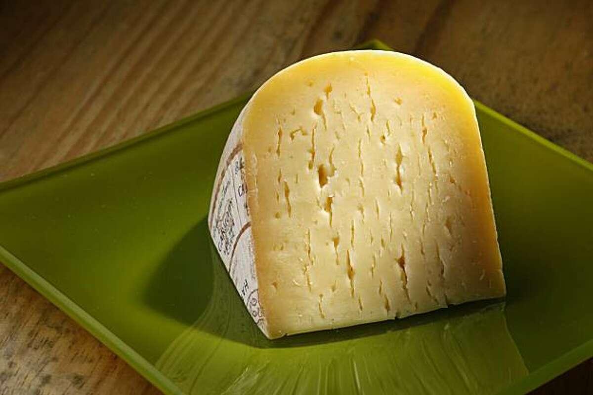 Bellwether Farms Carmody cheese as seen in San Francisco, California, on February 2, 2010.