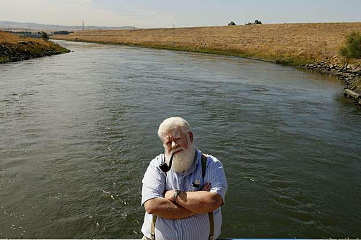 Bill Jennings of the California Sport Fishing Protection Alliance, taken Sept. 27, 2007 in Byron.