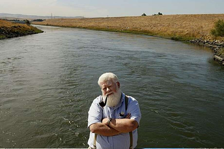 Bill Jennings  of the California Sport Fishing Protection Alliance, taken Sept. 27, 2007 in Byron. Photo: Lance Iversen, The Chronicle
