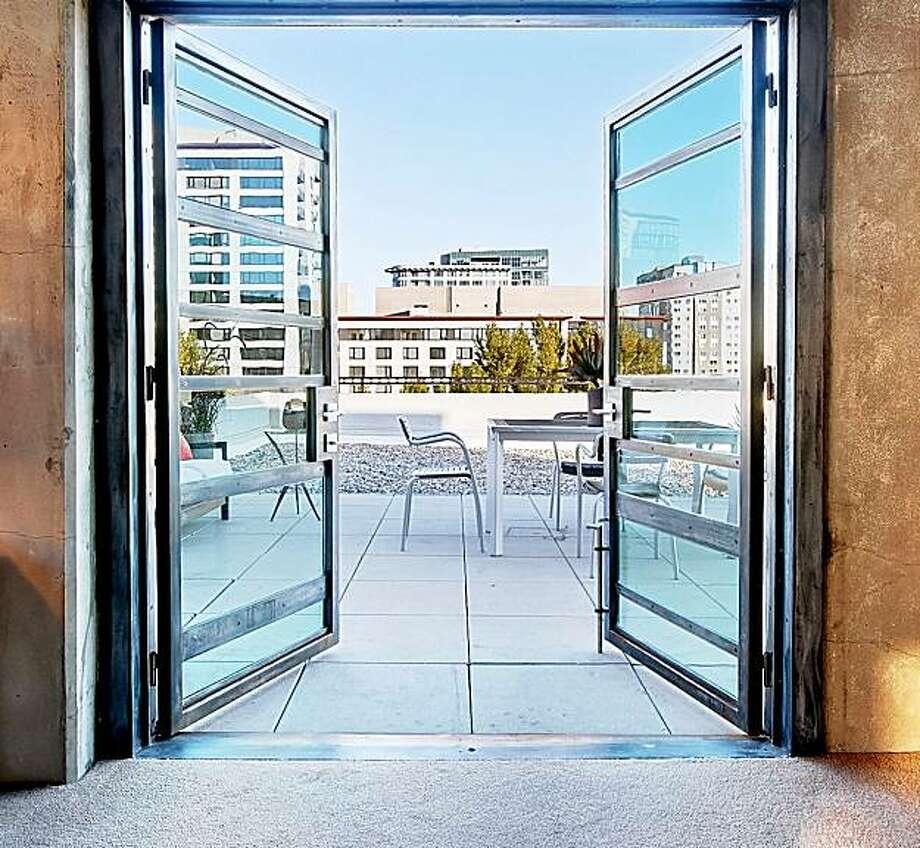 Doors out to the patio. Photo: Dan Friedman