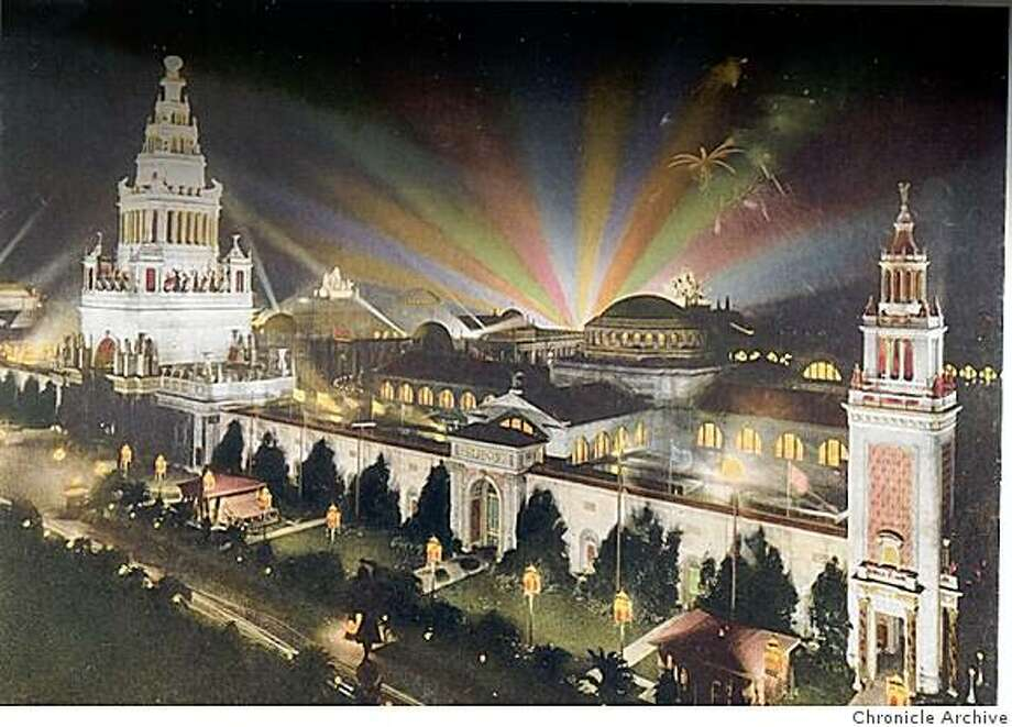 Tower of Jewels, a photograph taken at the 1915 Pan Pacific Expo.  timeline_144 Photo: Chronicle Archive