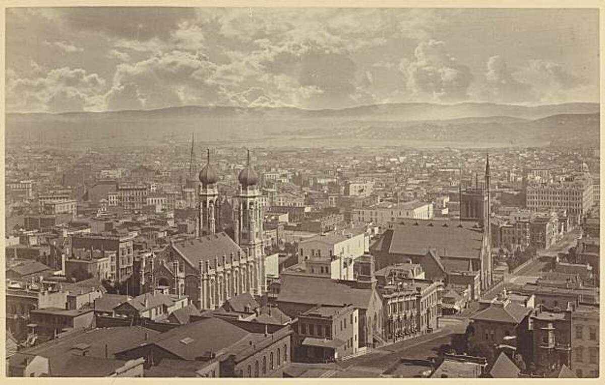 View from Wondows Looking South, 1877, from Muybridge show at SFMOMA