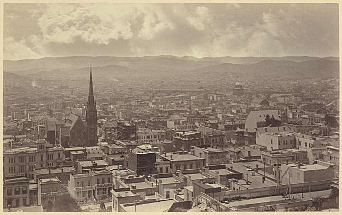 View from Windows Looking South-west, 1877, from Muybridge show at SFMOMA