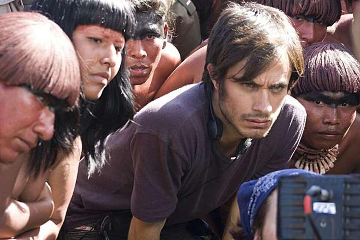 Gael Garcia Bernal as Sebastian, director of a historial epic on Christpher Columbus in