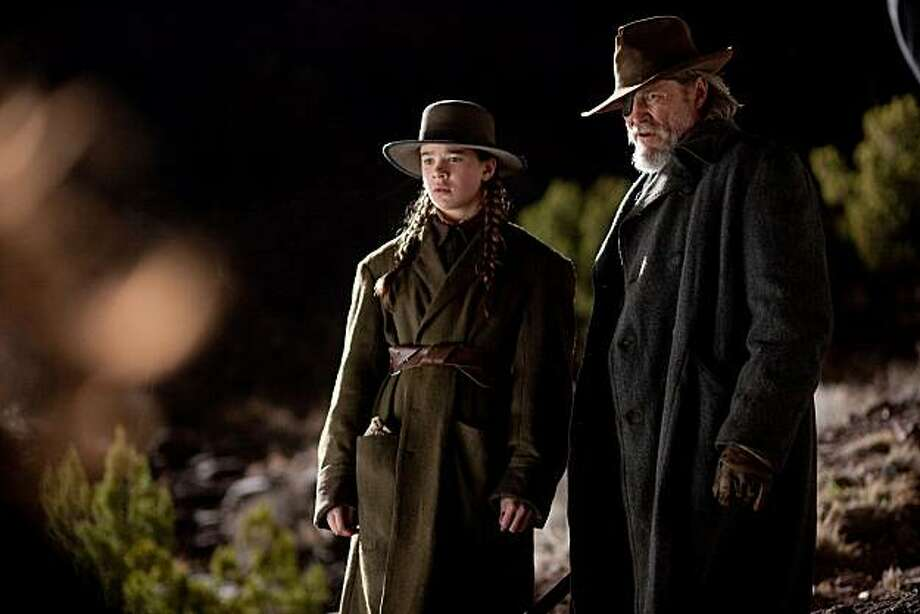 """Hailee Steinfeld and Jeff Bridges appear in a scene from, """"True Grit."""" Photo: Photo Credit: Lorey Sebastian, Paramount Pictures"""