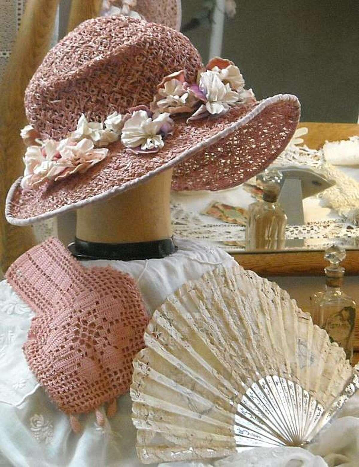 On display in the Victorian Ladies exhibit at Historic Deepwood Estate.