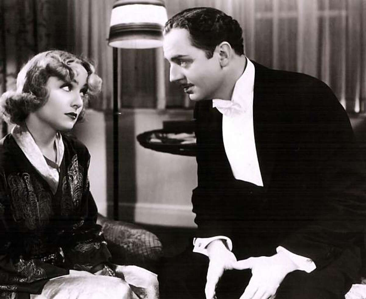 Carole Lombard and William Powell in