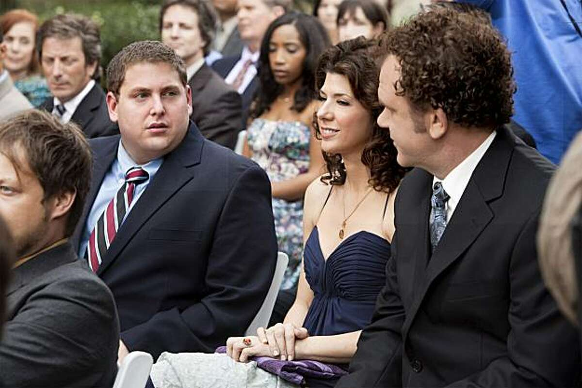Jonah Hill, Marisa Tomei and John C. Reilly in