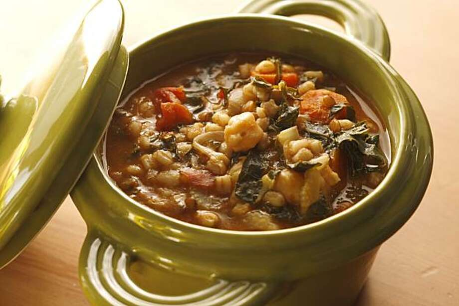 Italian Farro and Beans in San Francisco, Calif., on December 31, 2008. Food styled by Cindy Lee. Photo: Craig Lee, The Chronicle