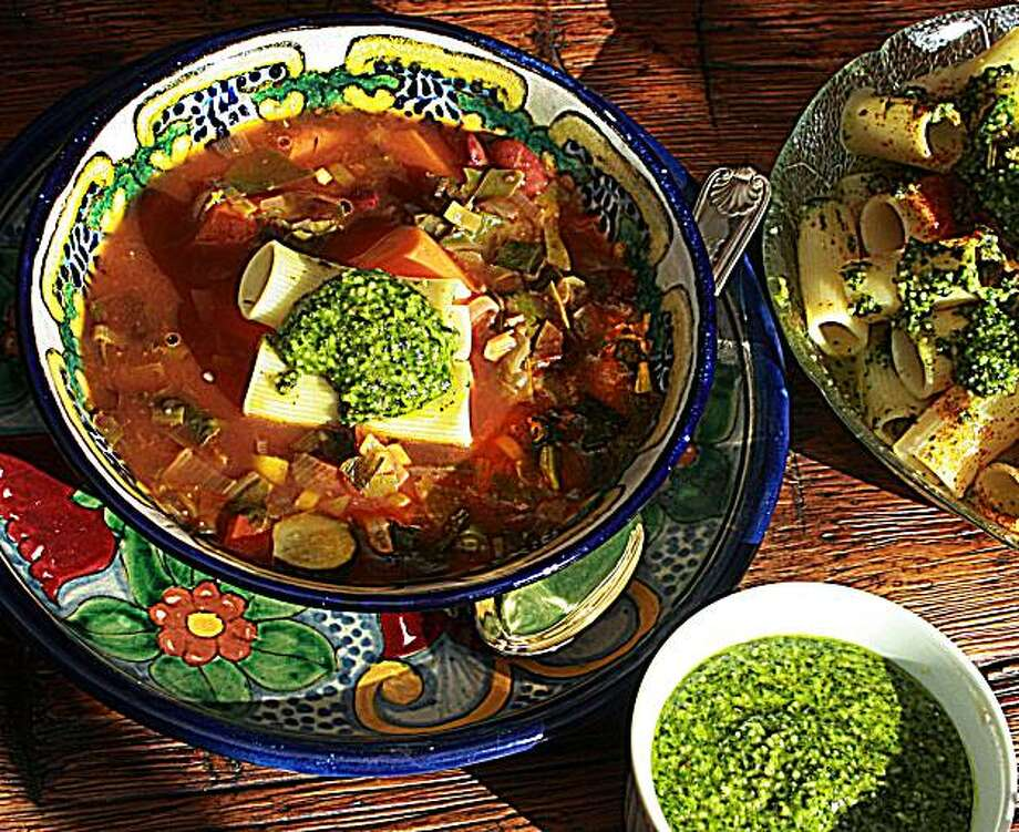 Mexican Minestrone for Jaqueline Higuera McMahan's South to North column. Photo: Robert McMahan