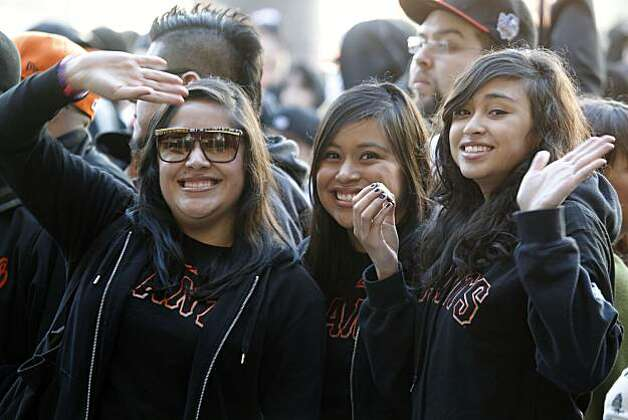 The San Francisco Giants annual FanFest kicked off early Saturday. Photo: Lance Iversen, The Chronicle