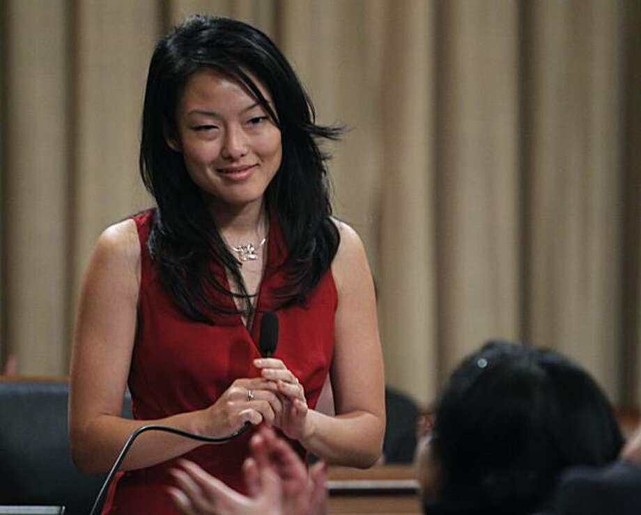 Supervisor Jane Kim attends a Board of Supervisors meeting at City Hall in San Francisco, Calif., on Saturday, Jan. 8, 2011. Photo: Paul Chinn, The Chronicle